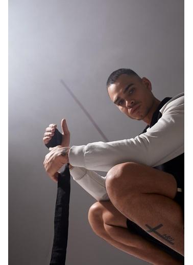 DeFacto Kapüşonlu Fermuarlı Sweatshirt Siyah